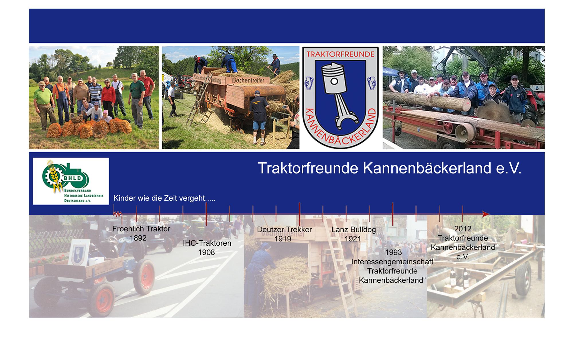 Willkommen bei den Traktorfreunden Kannenbäckerland